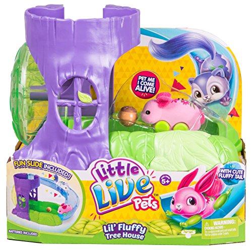 Little Live Pets 28370 Fluffy Friends Spielset (verschiedene Modelle)