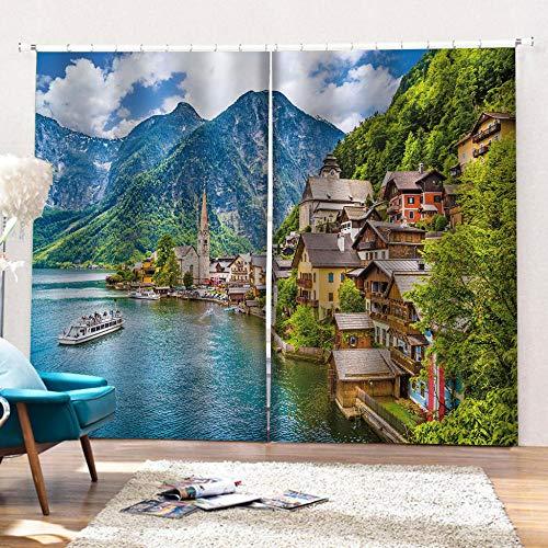 cortinas comedor paisajes