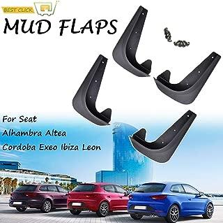 Mudguards Universal Mud Flaps Mudflaps Splash Guards Mudguards For Seat Alhambra Altea Cordoba Exeo Ibiza Leon Toledo Mii Arona FR ST