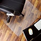 Marvelux Alfombrilla Rectangular de policarbonato (PC) para sillas de 75 x 120 cm (30'x 47') para Pisos Duros |Protector de Piso Transparente |Varios tamaños