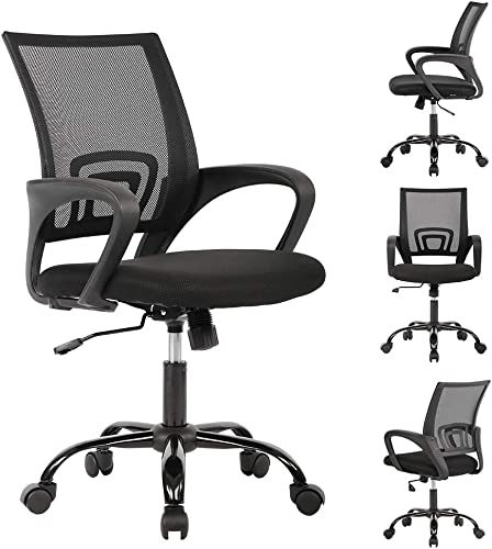 2021 Ergonomic Office outlet sale Chair Cheap Desk Chair Mesh Computer online sale Chair Back Support Modern Executive Adjustable Arms Rolling Swivel Chair for Women, Men(4 Pack) outlet online sale