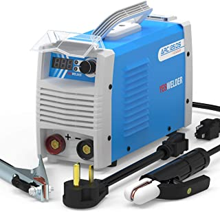 YESWELDER ARC Welder 125Amp Digital Inverter IGBT Stick MMA Welder,110/220V Dual Voltage Hot Start Portable Welding Machin...