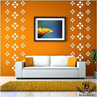 Kayra Decor Reusable DIY Wall Stencil Painting for Home Decoration (PVC, 16-inch x 24-inch) (KHS234)