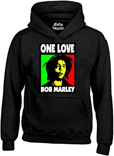 04de9ce1353b7 Amazon.com: Bob Marley - Hoodies / Men: Clothing, Shoes & Jewelry