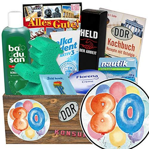 80 Geburtstag Geschenke Oma / Geschenk Set / Geschenke zum 80.