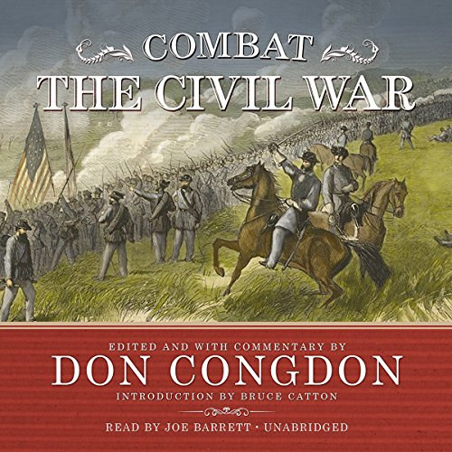 Combat: The Civil War audiobook cover art