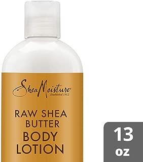 SheaMoisture Raw shea butter body lotion moisturizer, 13 Fluid Ounce