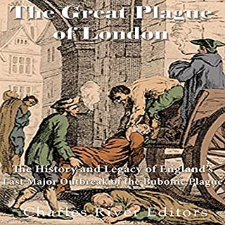The Great Plague of London audiobook cover art