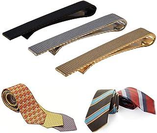Ballylelly-3 Teile//Satz M/änner Edelstahl Mode Krawattenklammer Einfarbig Exquisite Krawatte Krawatte Clips Schmuck-Set F/ür Unternehmen Regelm/ä/ßige Krawatten