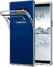 Spigen Funda Liquid Crystal Compatible con Samsung Galaxy Note 8 (2017), Protección Delgada de Gel Silicona y claridad Premium de TPU - Transparente