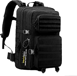 POLAR HAWK TACTICAL BACKPACK Military Backpack Bug Out Bag Molle Backpack 3 Day Assault Pack Made of Real US Cordura Fabric Perfect for Hiking Camping Trekking Hunting