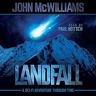 Landfall audiobook cover art