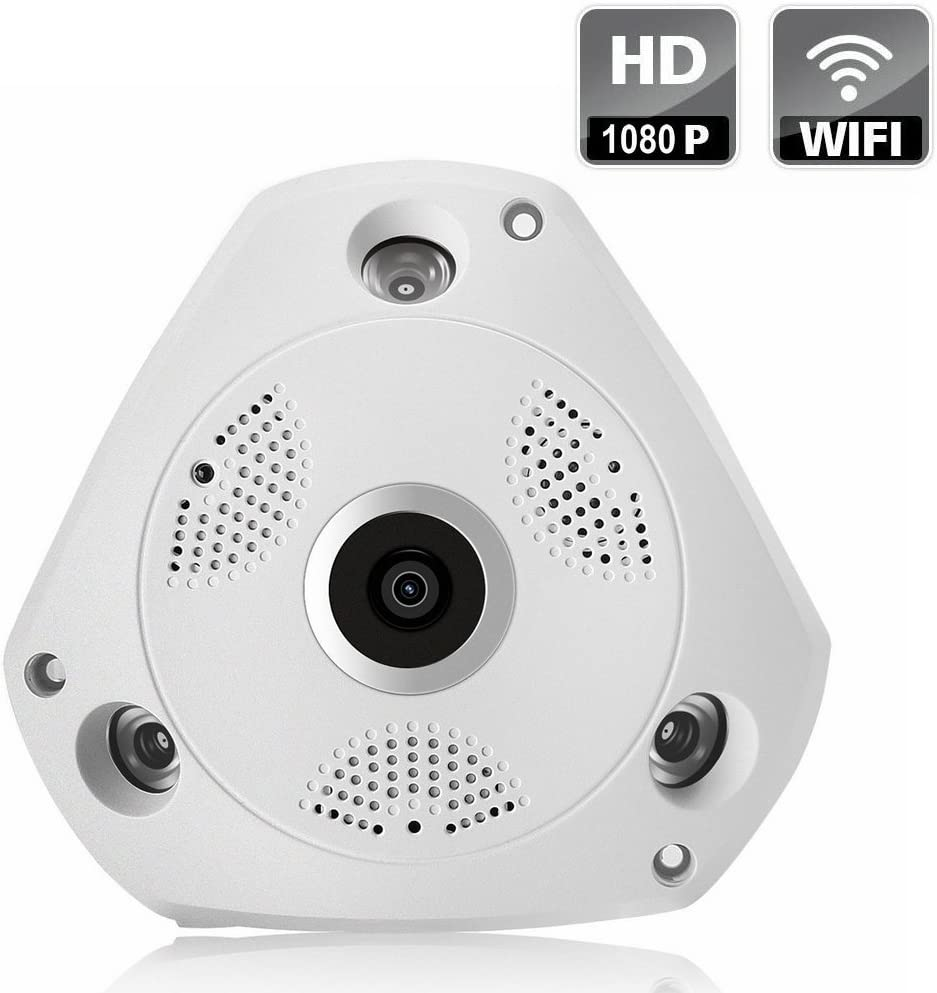 Panoramic Wireless IP All Superior items free shipping Camera - Surveillance Security Home 1080P