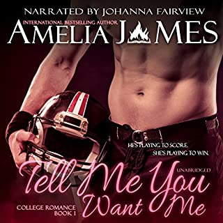 Tell Me You Want Me audiobook cover art