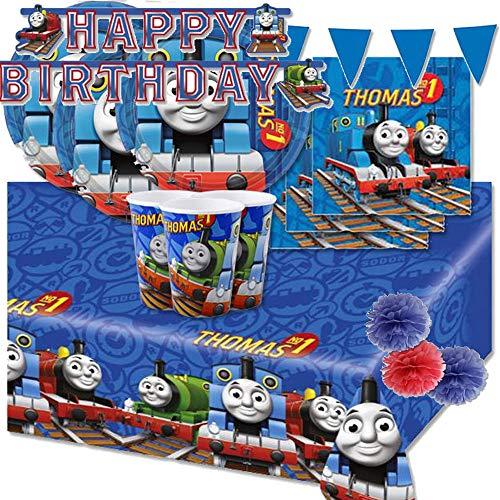 Kit compleanno per 16 persone n 54 coordinato compleanno Trenino Thomas addobbi festa party Edward Henry Gordon