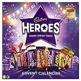Cadbury Heroes - Calendario de Adviento de chocolate (230 g)