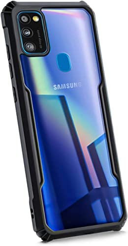 WOW Imagine Shock Proof Series Protective Case for Galaxy M21 M30s Transparent Bumper 360 Degree Camera Protection with AirEDGE Technology Hard Back Case Cover for Samsung Galaxy M30s M21