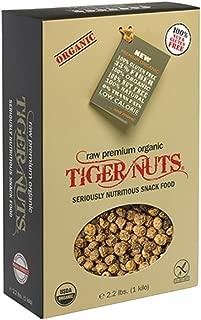 Premium Organic Tiger Nuts 1 Kilo (2.2 lbs)| Raw, Gluten Free Snack, Non-GMO