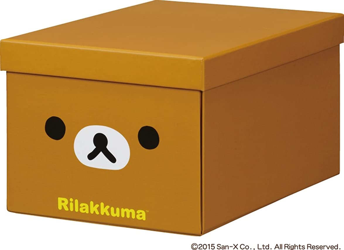 ブレーキ原始的な酸キングジム リラックマ折りたたみ収納ボックス M 4066RK リラックマ