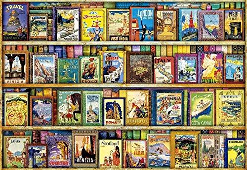 Educa Borrás - Puzzle Viajando por El Mundo, 1000 Piezas (17102)