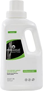 Fragrance Free All Natural Laundry Detergent for Athletic Clothes | NO SWEAT®