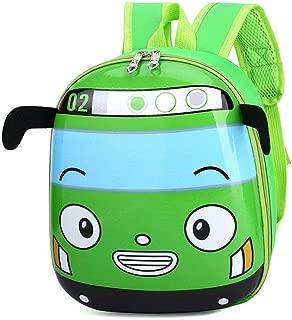Cute Favorable Schoolbags Children Kid S Cartoon 3D Car Shape School Backpack Kindergarten Bookbag for Boys Girls Child Zhaozb (Color : Green)