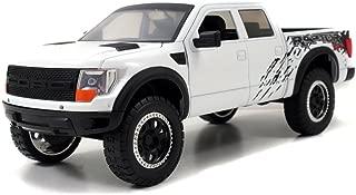 Jada 2011 Ford F150 SVT Raptor Pickup Truck 1/24 Diecast Model Car White
