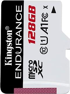 Kingston High Endurance 128GB MicroSD SDXC Flash Memory Card High Performance, 1080P, Full HD, Up to 95MB/S Read, (SDCE/12...