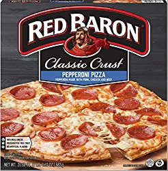 Red Baron, Classic Pepperoni Pizza, 20.60 oz (Frozen)