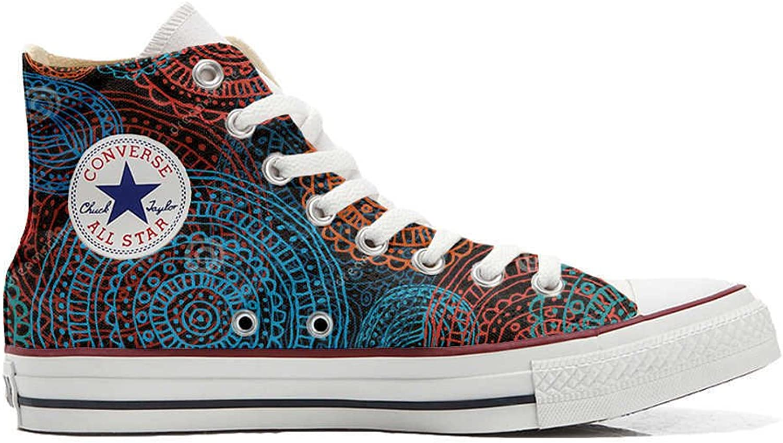 Converse All Star personalisierte Schuhe (Custom Produkt) Back Groud Groud Groud Paisley B06XGG1JGX  Elegant 509166