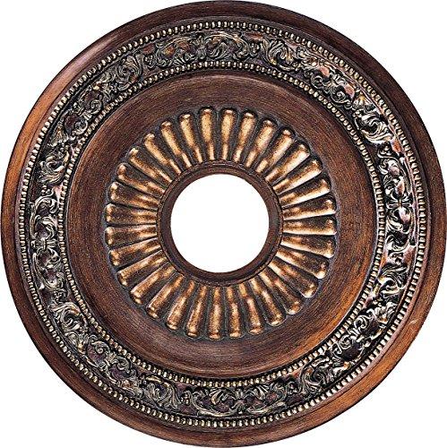 Minka Lavery 1940-126, Belcaro Chandelier Accessory Ceiling Medallion, Walnut