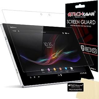 TECHGEAR Skärmskydd för Xperia Z2 surfplatta - Ultraklart skärmskydd kompatibel med Sony Xperia Z2 surfplatta