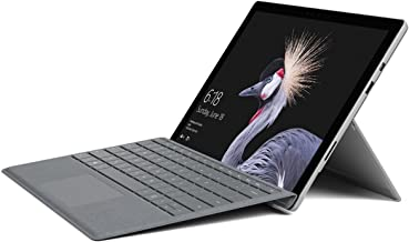 Microsoft Surface Pro 128GB i5 8GB RAM with Platinum Signature Type Cover Bundle (WiFi Only, 2.6GHz i5, 12.3 Inch TouchScreen) Newest Version