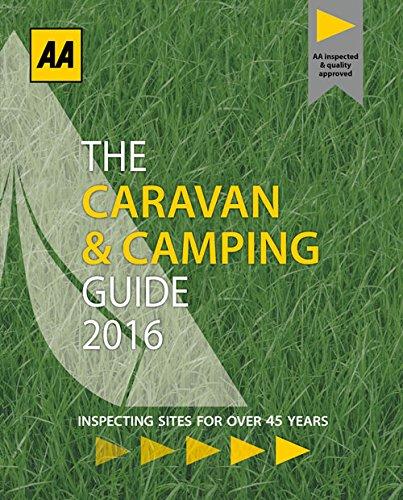 Preisvergleich Produktbild AA Caravan & Camping Britain 2016 (Caravan & Camping Guide Britain)