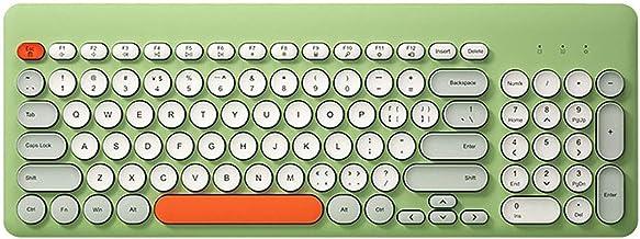 teclado, Walory K221 2.4G sem fio teclado 96 teclas redondas teclado mini portátil de design ergonômico para IOS/Windows v...