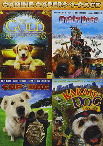 Golden Retrievers/Chilly Dogs/Cop Dog/Karate Dog