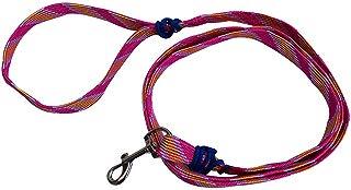 Cuerda correa para perro básica para paseo 1.5 mts. Rosa para razas medianas y pequeñas