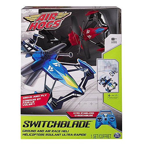 Air Hogs RC Switchblade terra e aria Race Red Helicopter