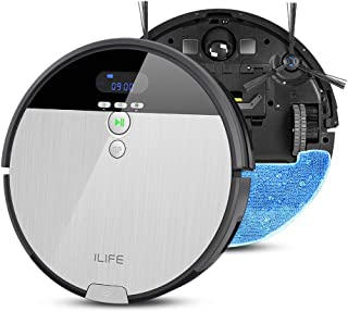 ILIFE V8s ロボット掃除機 強い吸引力 吸い・ 拭き両用 ペットの毛に効果的 落下防止と衝突防止