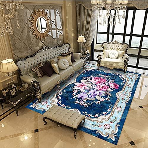 NHhuai Tappeto Moderno Soggiorno Camera da Letto Salotto Tappeto Geometrico Creativo del corridoio dell'hotel