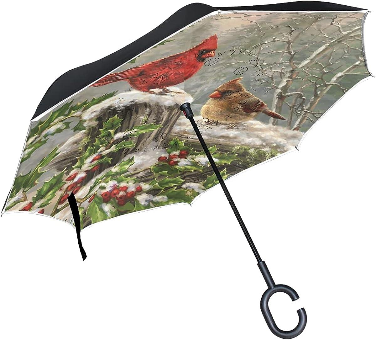 store New life Unicorn Reverse Umbrella Upside Down Foldin Handle C-Shaped with