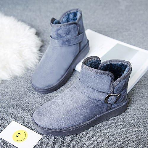 AGECC Chaussures de Sport à Manches Courtes pour Femme, Hiver avec Manches Courtes pour Bottes de Neige Bonne Chance pour Vous