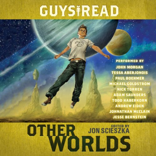 Guys Read: Other Worlds                   By:                                                                                                                                 Jon Scieszka,                                                                                        Tom Angleberger,                                                                                        Eric S. Nylund,                   and others                          Narrated by:                                                                                                                                 John Morgan,                                                                                        Jesse Bernstein,                                                                                        Tessa Aberjonois,                   and others                 Length: 7 hrs and 10 mins     22 ratings     Overall 3.7