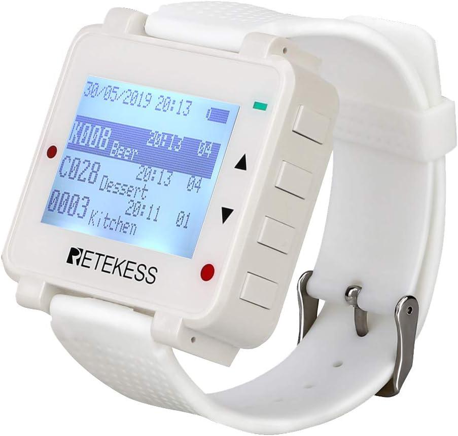 Retekess T128 Wireless Caregiver Pager Distance Nursing Cal Overseas parallel import regular item Long 35% OFF