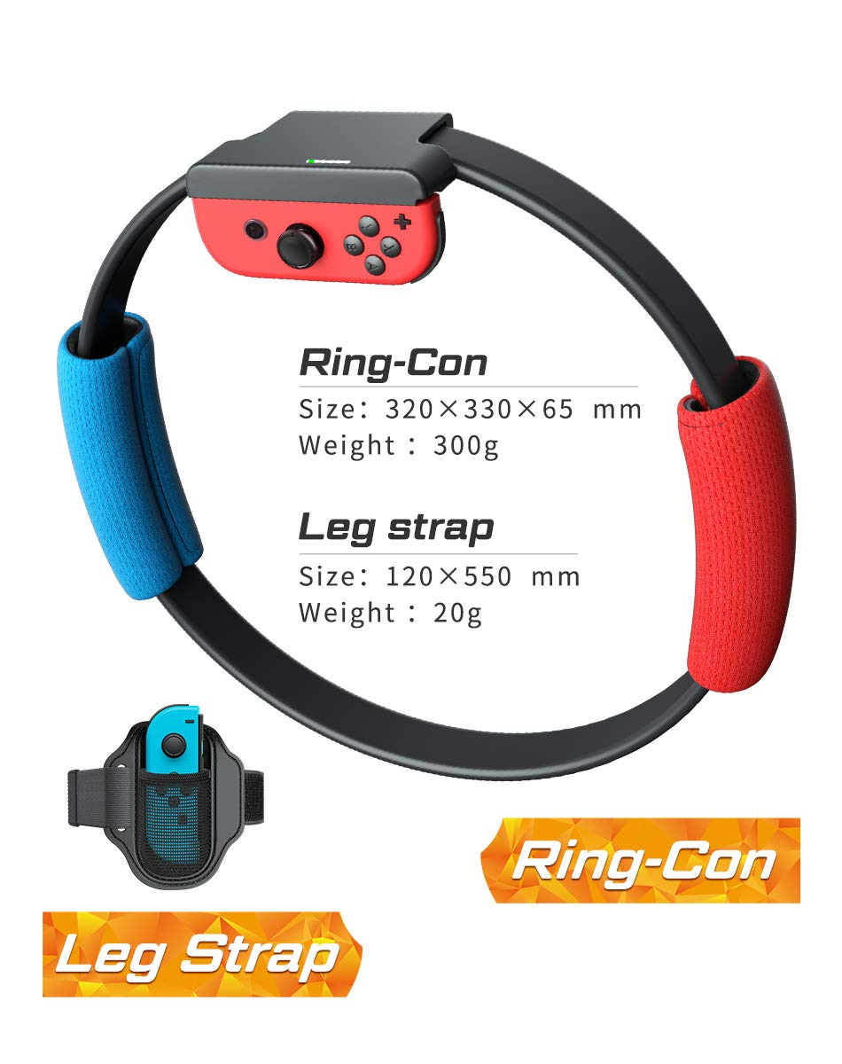 Faxiang Switch Fitness Ring para NS Switch Fitness Ring con Correa ...