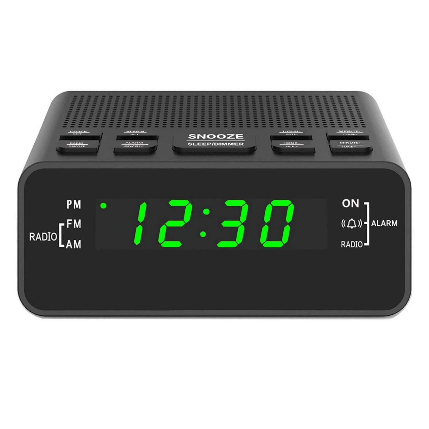 Digital Clocks Bedrooms Dimmer Snooze