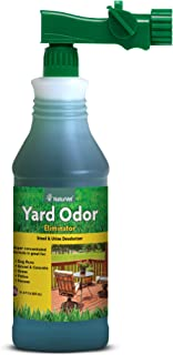 NaturVet Yard Odor Eliminator Stool & Urine Deodorizer, Made in USA