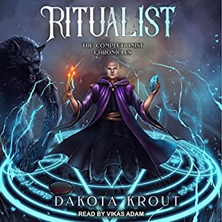 Ritualist     Completionist Chronicles, Book 1              Written by:                                                                                                                                 Dakota Krout                               Narrated by:                                                                                                                                 Vikas Adam                      Length: 12 hrs and 6 mins     89 ratings     Overall 4.8