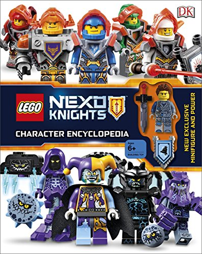 Lego. Nexo Knights. Character Encyclopedia: Includes Exclusive Clay Minifigure