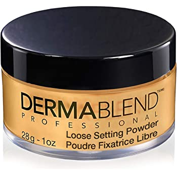 Dermablend Loose Setting Powder, Face Powder Makeup for Light, Medium and Tan Skin Tones, Mattifying Finish and Shine Control, 1oz